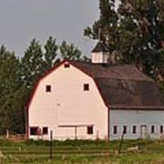 The White Barn Poster