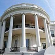 The White House South Portico Poster