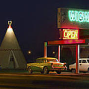 The Wigwam Motel On Route 66 Panoramic Poster
