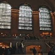 The Windows At Grand Central Terminal Poster