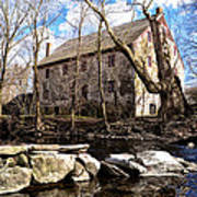 The Wissahickon Creek And Mather Mill Poster