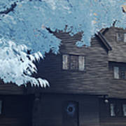 The Witch House In Infrared Poster
