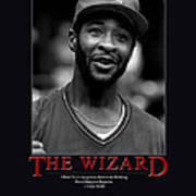 The Wizard Ozzie Smith Poster