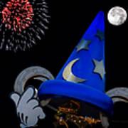 The Wizard Walt Disney World Poster