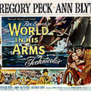 The World In His Arms 1952 Poster