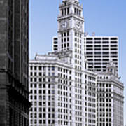 The Wrigley - A Building That Is Pure Chicago Poster