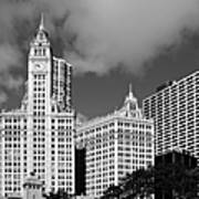 The Wrigley Building Chicago Poster by Christine Till
