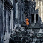 The Young Monk Poster