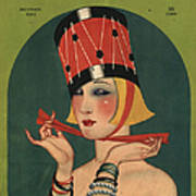 Theatre 1923 1920s Usa Magazines Art Poster