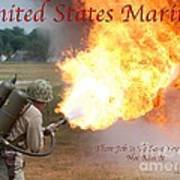 Their Job Is To Save Your Ass Usmc Poster
