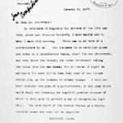 Theodore Roosevelt Cuba Poster