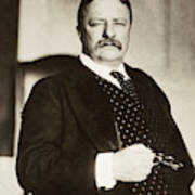 Theodore Roosevelt(1858-1919) Poster