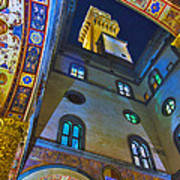 Viev From Courtyard Of Palazzo Vecchio Florence Poster