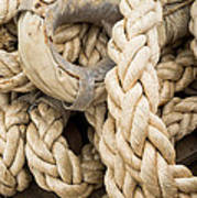 Braided Rope With Eyelet Poster