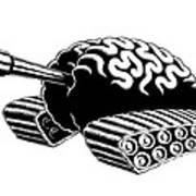 Think Tank Poster by M o R x N