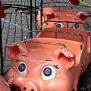This Little Piggy Went To Market Poster