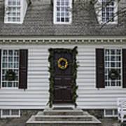 Thomas Everard House Williamsburg Poster