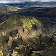 Thorsmork Valley In Iceland Poster