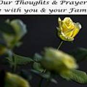 Thoughts And Prayers Poster