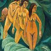 Three Bathers Poster