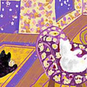 Three Cats Poster
