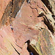Three Climbers Poster