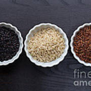Three Kinds Of Rice Poster