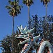Three Palms Dragon Poster