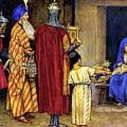 Three Wise Men Bearing Gifts Poster