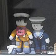 Through A Cornish Window Poster