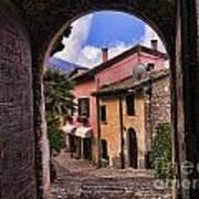 Through The Castle Door Poster