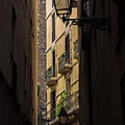Thru The Narrow Alley Poster