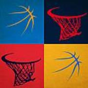 Thunder Ball And Hoop Poster