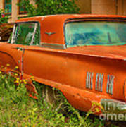 Thunderbird Rusting In Peace Poster