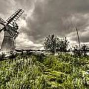 Thurne Wind Pump Poster