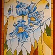 Himalayan Poppies Poster