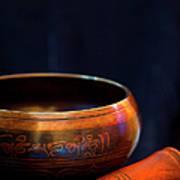 Tibetan Singing Bowl Poster