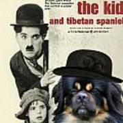 Tibetan Spaniel Art - The Kid Poster