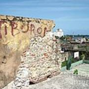 Tiburon And Basketball Court At The Top Of The Fort Wall Poster