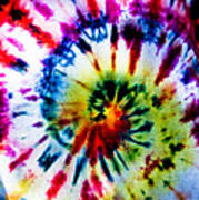 Tie Dyed T-shirt Poster