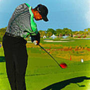 Tiger Woods  - Second Round Of The Honda Classic Poster