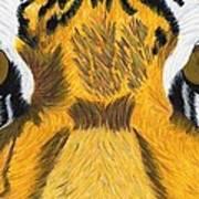 Tiger's Eyes Poster by Bav Patel