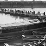 Tigris River Bridge Poster