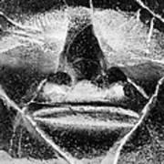 Tiki Mask Negative Poster