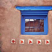 Tiles Below Window Poster