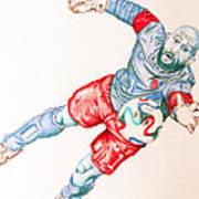 Tim Howard Drawing Poster