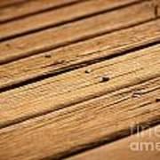 Timber Decking Poster