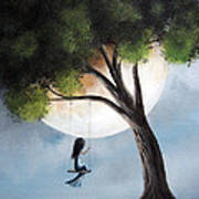 Time Alone By Shawna Erback Poster by Shawna Erback
