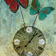 Time Flies Poster by Aimelle
