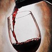 Time For Wine Poster